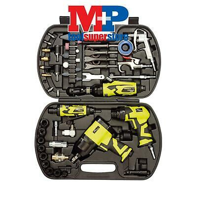 Draper 83431 Storm Force 68 Piece Air Tool Kit Impact Wrench Ratchet Die Grinder
