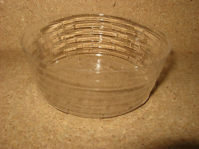 """Longaberger 5"""" Round Keeping Basket Protector only mint condition!"""