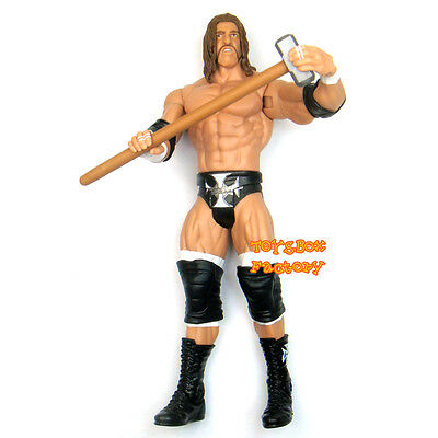 "WWF WWE Triple H HHH "" The Game "" Hammer Wrestling Action Figure Kid Child Toy"