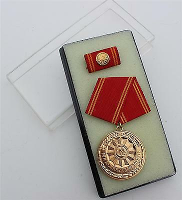 Ddr Nva East German Police Service Medal 25 Year Service