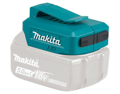 Makita Adaptor for USB DEAADP05 ADP05 FREE 1ST CLASS DELIVERY