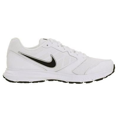 Nike Downshifter 6 White Black Mens Trainers