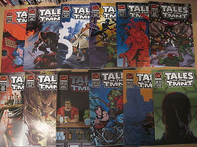 TEENAGE MUTANT NINJA TURTLES : PACK du 25 ISSUES.EASTMAN,LAIRD.MIRAGE. 2004 sur