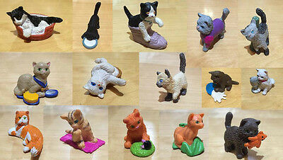 Kitty in My Pocket & Other Makes Toy Figures Cats Kittens Meg Kine