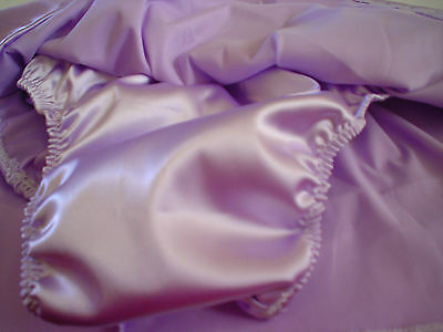 Shiny Satin Skirt Panties Vintage Reproduction Handmade Custom Size s m l or xl