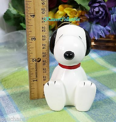 Snoopy  Large Pomander ceramic ornament 3.5 inches