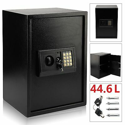 Large High Security Electronic Digital Safe Steel Home Office Money  Safety Box