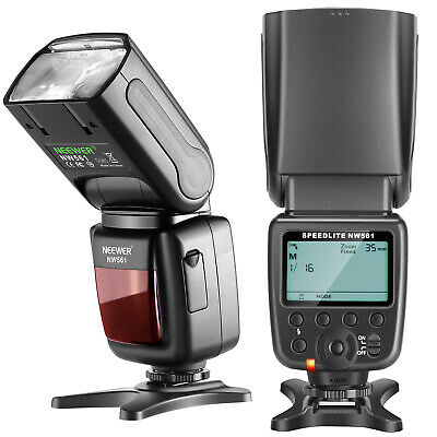 Neewer NW-561 Speedlite Flash with LCD Display for Canon Nikon Digital DSLR