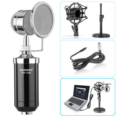 Neewer NW-1500 Pro Desktop Broadcastimg Recording Condenser Microphone Kit