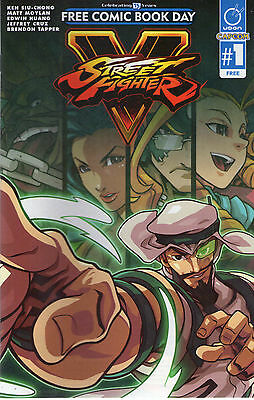 Street Fighter V #1- Fcbd 2016 - New