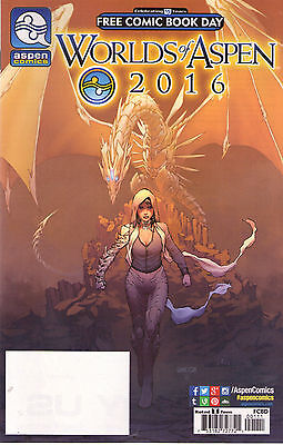Worlds Of Aspen   - Fcbd 2016 - New