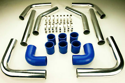 "Brand New 2.5"" Turbo Intercooler Pipe Piping Diy Kit 64Mm Silicone"