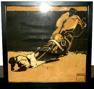 Hohlwein,Ludwig,1930,altes Plakat,Serie Turf,Racing,
