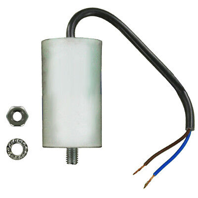Universal Microfarad Start Run Motor Capacitor MFD 2.5UF - 70UF Cable Lead Wire