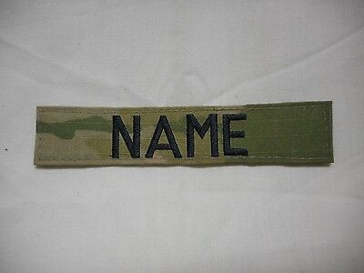 Custom Multicam Scorpion Ocp Name Tape, New, 5 Inch Length