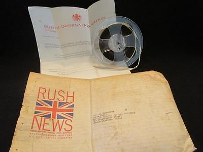 Christmas Message Tape 1967 Queen Elizabeth From Rush News to Denver Consolate