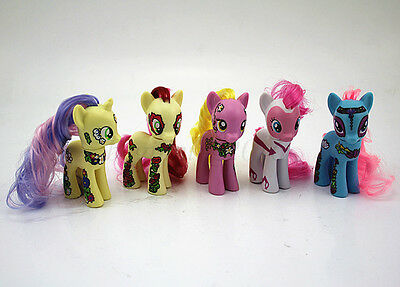Lots Of 5pcs My Little Pony Friendship Is Magic mini Action Figures Toy Gift Set
