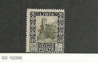 Libya, Postage Stamp, #55 Mint NH, 1924