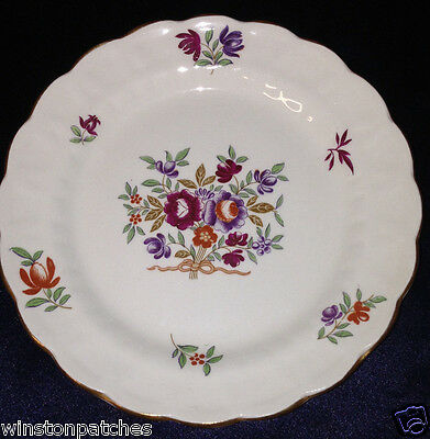 """Booths China England Lowestoft Bread & Butter Plate 6 1/4"""" Floral Sprays"""