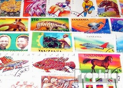 Tanzania 200 different special stamps