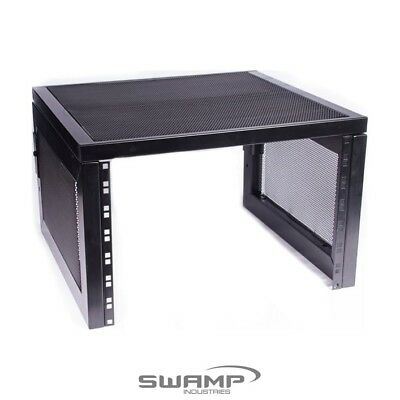 Studio Desktop Audio Rack Stand - 7U (19 inch) Metal Frame for Rack Units