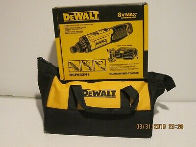 DEWALT DCF682N1 8V- MAX Lith-Ion Cordless Gyroscopic Screwdriver KIT. NISB FPRIS