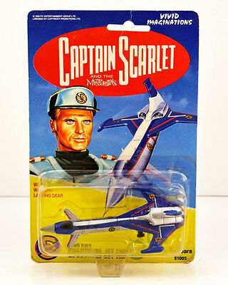 1993 CAPTAIN SCARLET/Blue * SPECTRUM JET Liner Diecast/Gerry Anderson MOC/NEW