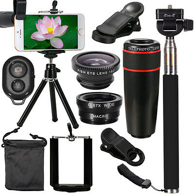 Accessories Phone Camera Lens Top Travel Kit For iPhone 5S 6 Plus DC600
