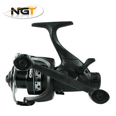 NGT Dynamic 4000/6000 10BB Baitrunner Fishing Reel with Spare Spool