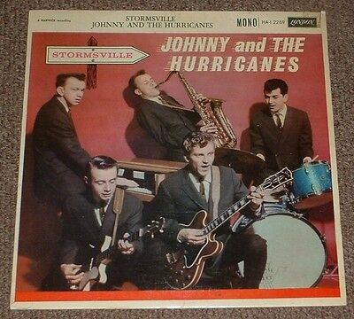 JOHNNY AND THE HURRICANES stormsville 1960 UK LONDON MONO LP