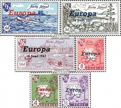 united kingdom-herm Iceland 1961A-1961F (complete issue) unmounted mint / never