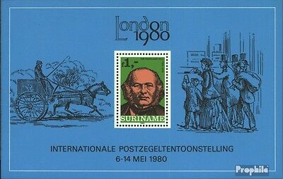 Suriname block24 (complete issue) unmounted mint / never hinged 1980 London