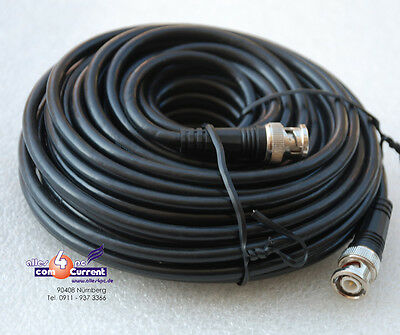 15M LAN NETWORK CABLE NETWORK CABLE 50 OHM 15 METERS CORD WITH 2x BNC PLUG