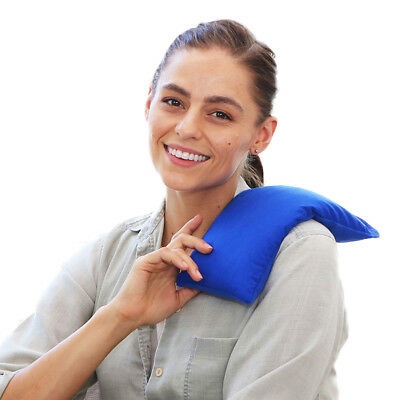Microwave Heating Pad - Rice Bag All Natural Pain Relief- Relax Your Muscles