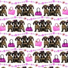 Here Come The Girls! Geschenkpapier - Gift Wrap & Tags