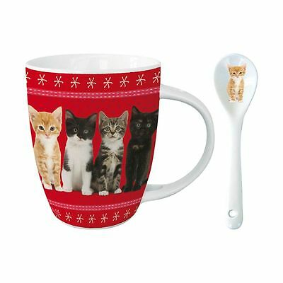 Kakao Tasse mit Löffel - From Kittens With Love