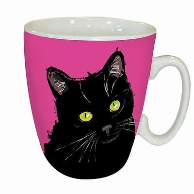 Waggy Tails - Black Cat - Kaffeebecher - Standard Mug