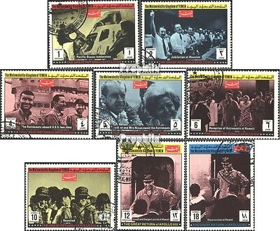 Yemen(UK) 895A-902A (complete issue) used 1969 Return Crew Apol