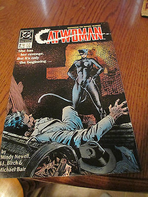 CATWOMAN Mini-Series #2 DC comic book 1989 ( VF to NM )