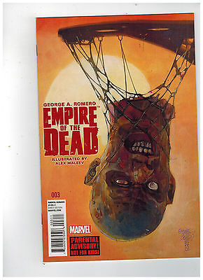 GEORGE ROMERO'S EMPIRE OF THE DEAD: ACT ONE #3 1st Printing / 2014 Marvel Comics