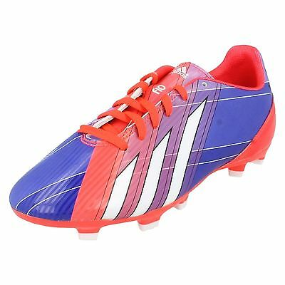 178aaa831 ADIDAS F10 MESSI Boys Girls Football Boots Junior Kids Moulded Studs ...