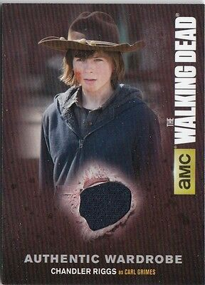 The Walking Dead Season 4 Pt.1 - M01 Carl Grimes (Chandler Riggs) Wardrobe Card