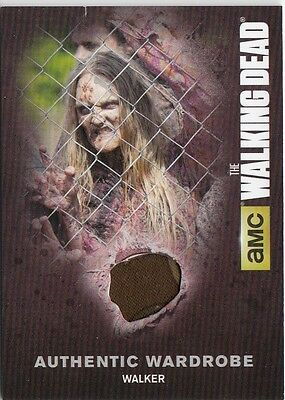 The Walking Dead Season 4 Pt.1 - M02 Walker Wardrobe Card