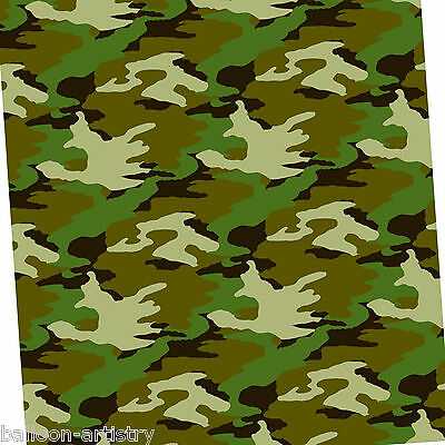 1.5m Army FORCES Camouflage Birthday Party Wrapping Paper Gift Wrap with tag