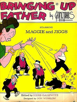 BRINGING UP FATHER. Starring MAGGIE and JIGGS.