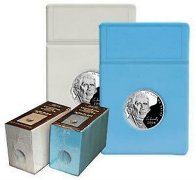 500 BCW Graded Coin Slabs WHITE Inserts SILVER EAGLE hard plastic holders
