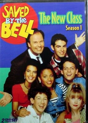 Saved By The Bell The NEW Class Season 1 Brand NEW 2 DVD Set 5 Hours 13 Episodes