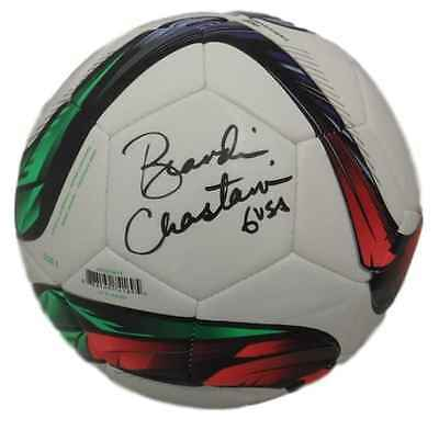 Brandi Chastain Autographed/signed Usa Soccer 14017 Adidas Soccer Ball Jsa