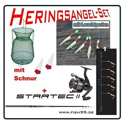 Baltic Herings Komplett - Set No.14 mit 4er u. 6er Haken