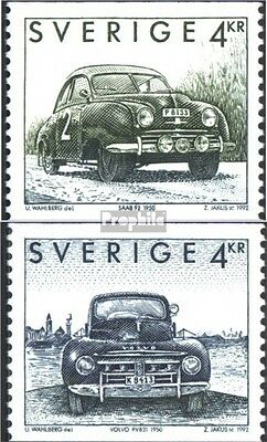 Sweden 1746-1747 (complete issue) used 1992 swedish. Automobile